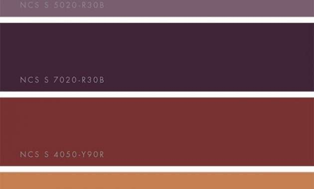 ncs color trends 2018 win a printed guide mode 2018  betreffend  Trend Wandfarbe 2018