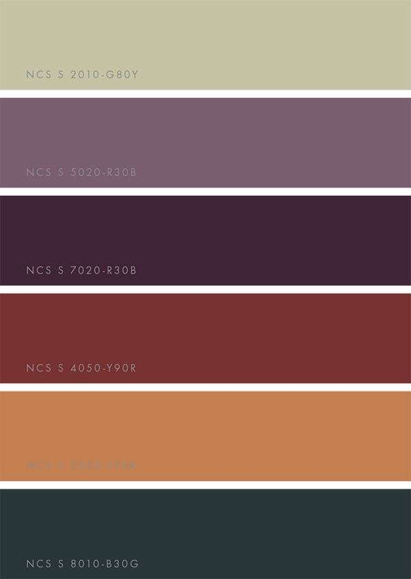 ncs color trends 2018 win a printed guide mode 2018  überall  Wandfarbe Trend 2018